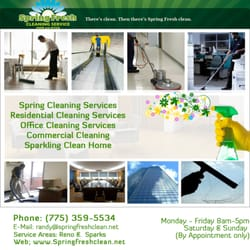 Photo Of Spring Fresh Cleaning Service Sparks Nv United States Commercial