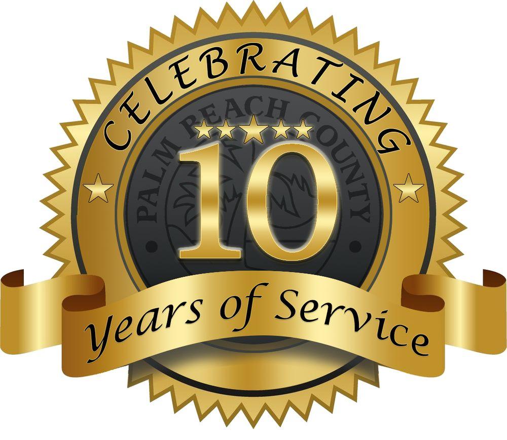 Celebrating 10 Years of Service!! - Yelp