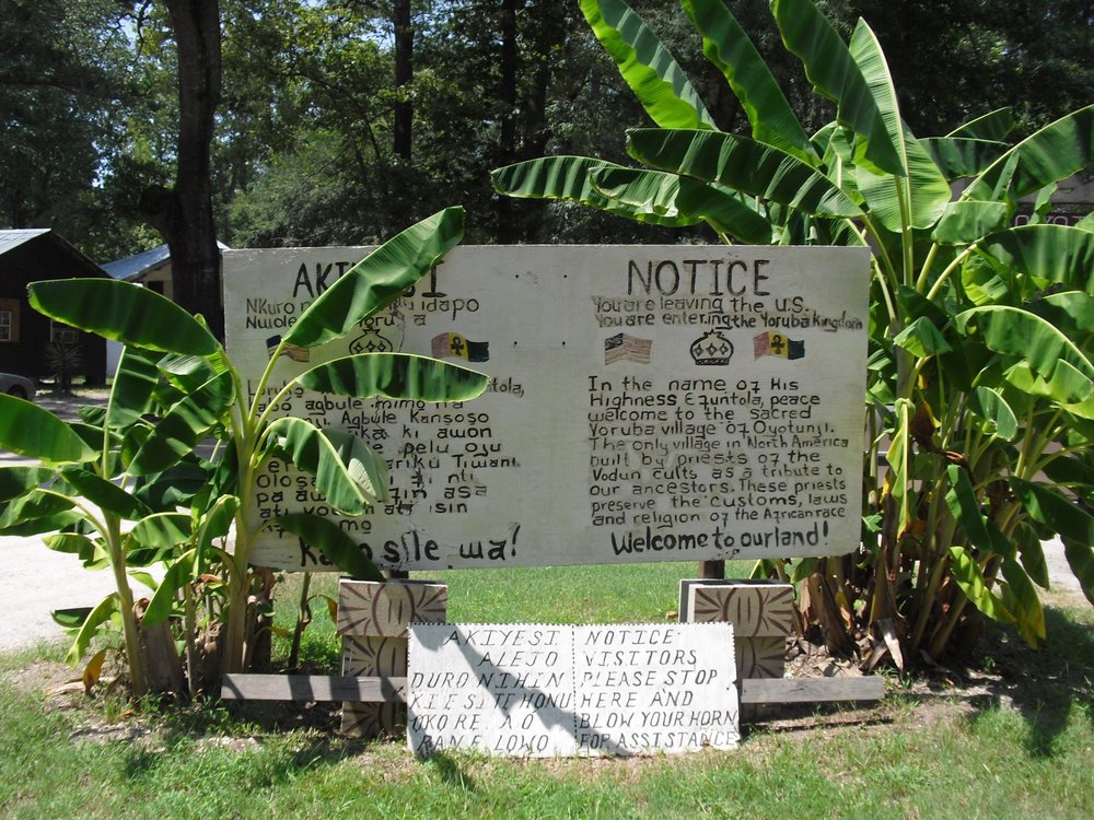 Oyotunji African Village: 56 Bryant Ln, Sheldon, SC