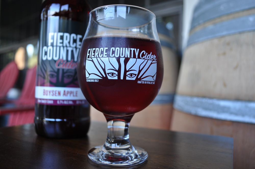 Fierce County Cider: 9918 162nd Street Ct E, Puyallup, WA