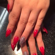 White Tips Photo Of Diamond Nails And Spa Stockton Ca United States