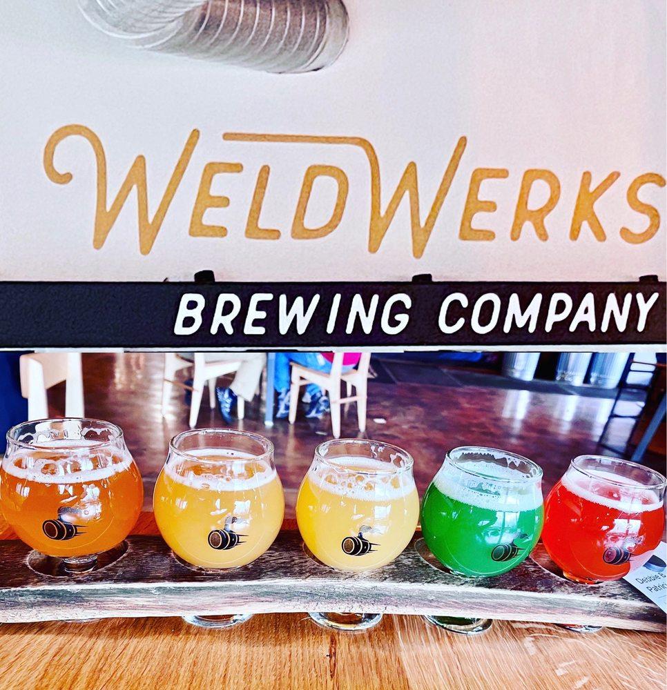 Food from WeldWerks Brewing