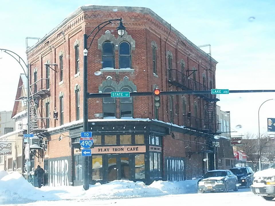 Flat Iron Cafe  State St Rochester Ny