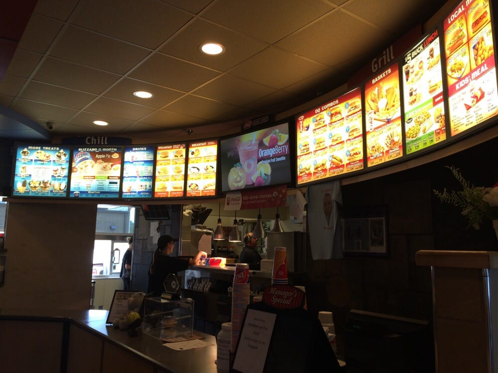 Food from Dairy Queen Grill & Chill