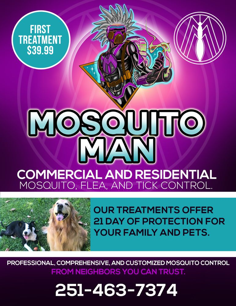 Mosquito Man: Satsuma, AL