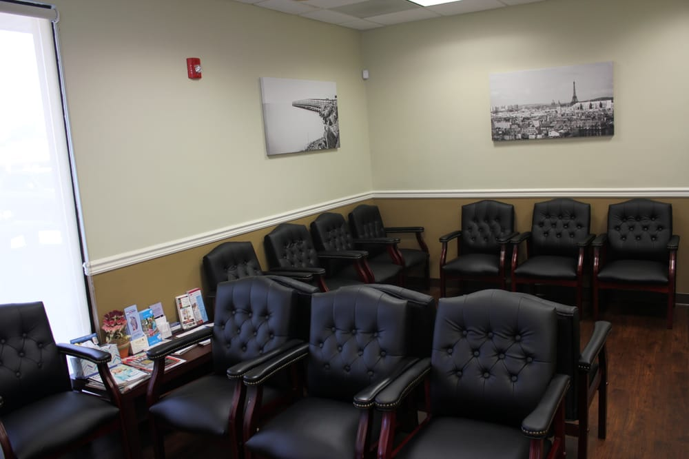 Comfortable Large Waiting Room Where You Will Spend Very Little Time