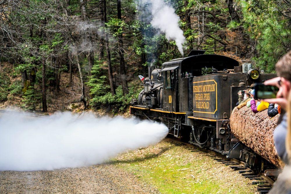 Yosemite Mountain Sugar Pine Railroad: 56001 Hwy 41, Fish Camp, CA