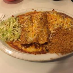 Photo Of Mi Patio   Phoenix, AZ, United States. Beef Enchilada Dinner Plate
