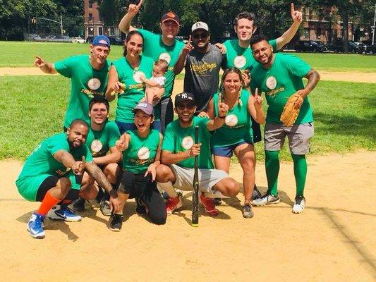 Marine Park Coed Softball League - Temp  CLOSED - Sports