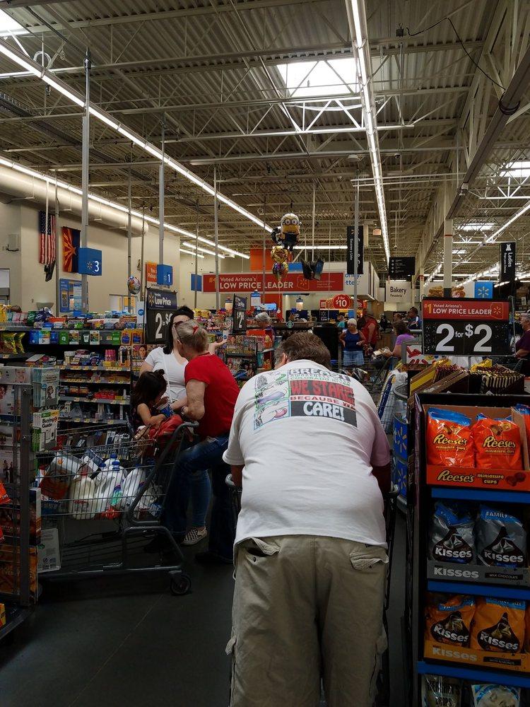 Walmart Supercenter: 100 W Riverside Dr, Parker, AZ