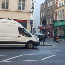 Perfect Photo Of Get Removals   London, United Kingdom. Driving Through Soho