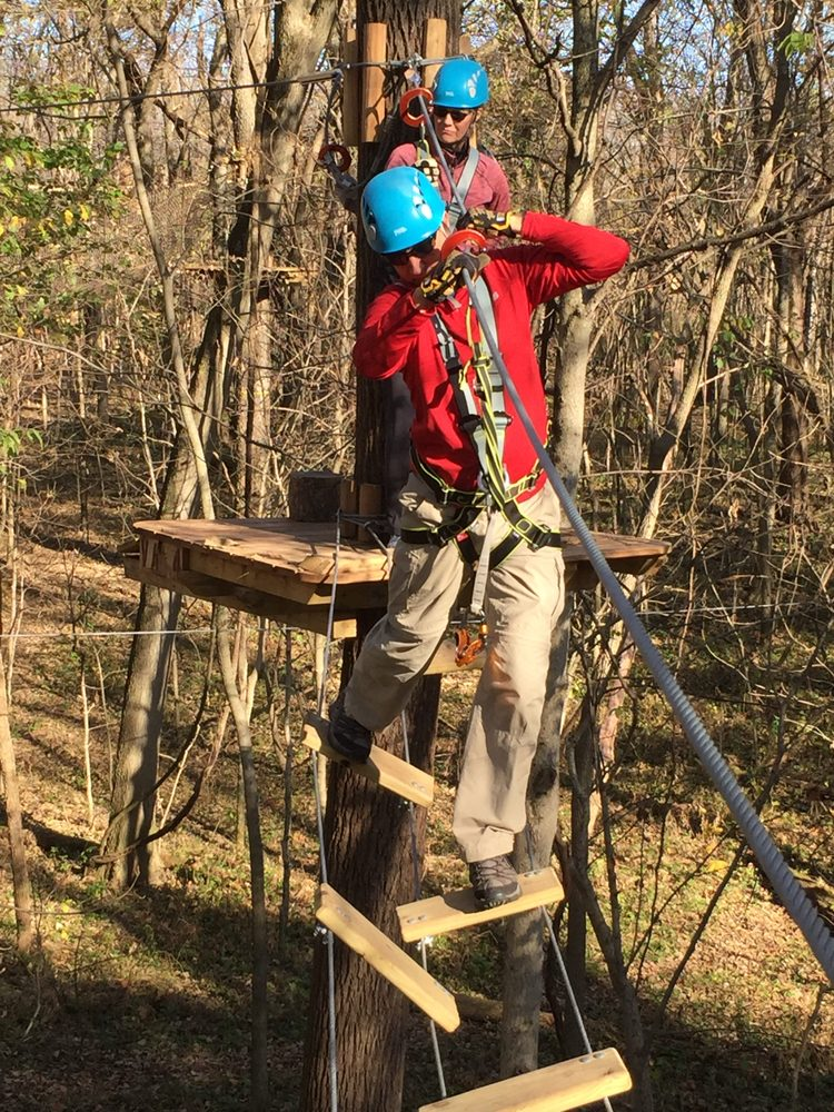 Koteewi Aerial Adventure Treetop Trails: 11800 Koteewi Dr, Noblesville, IN