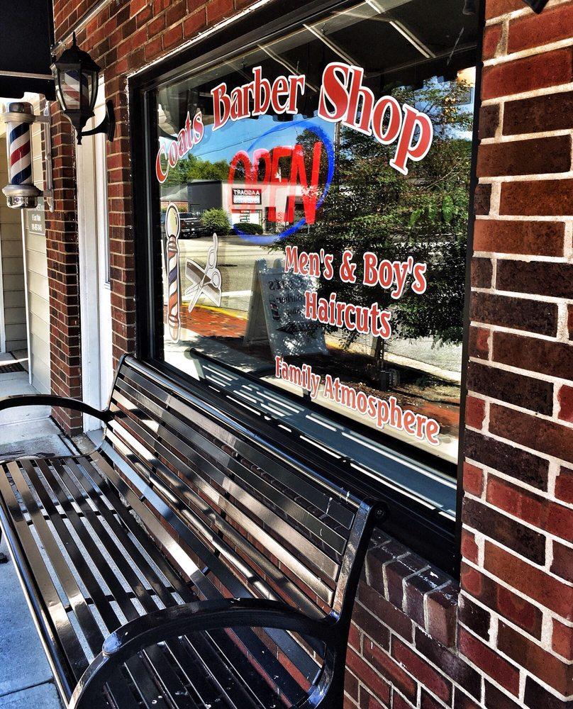 Coats Barber Shop: 11 E Main St, Coats, NC