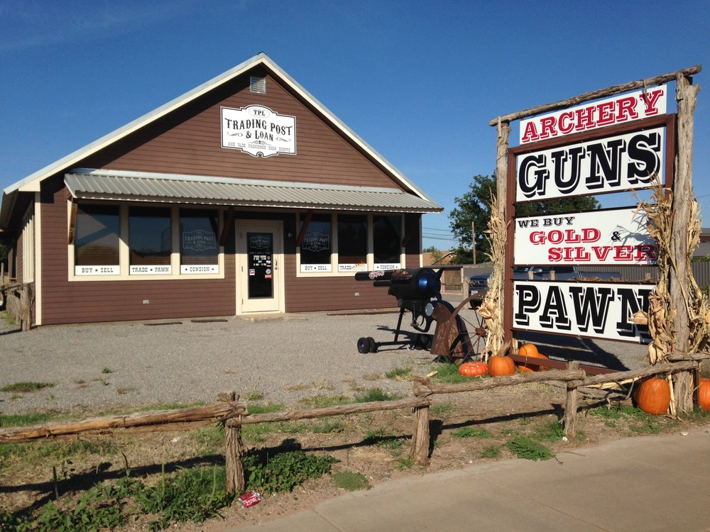 Trading Post & Loan: 1500 Ave F NW, Childress, TX