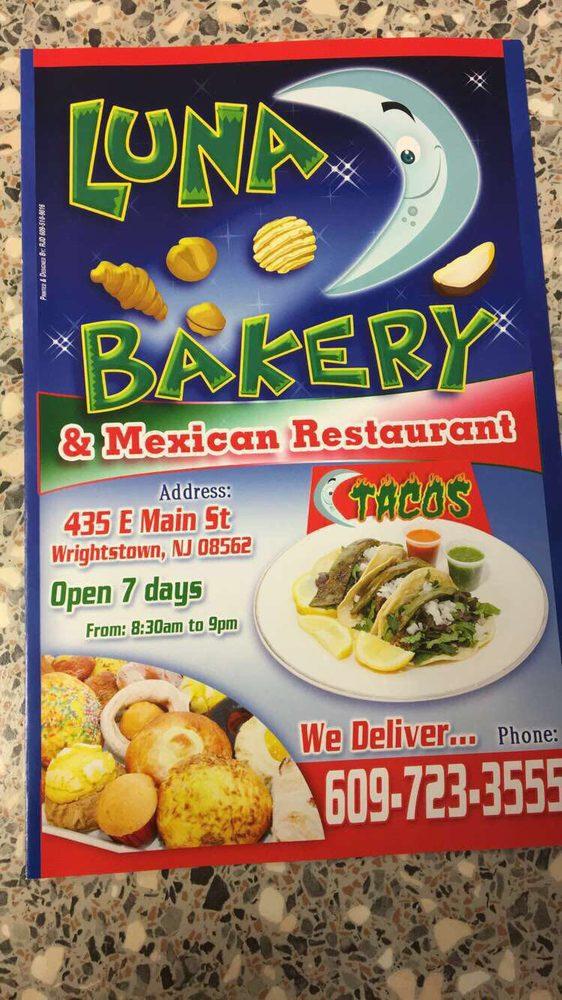 Luna Bakery: 435 E Main St, Wrightstown, NJ