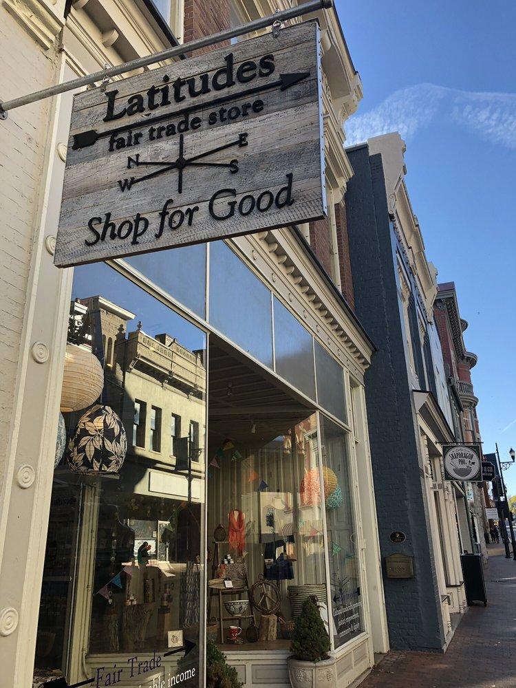 Latitudes Fair Trade Store: 16 E Beverley St, Staunton, VA