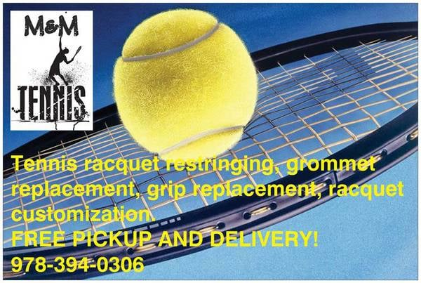 M & M Tennis Services: 1644A Beacon St, Brookline, MA