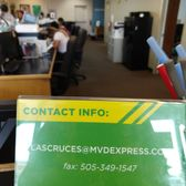 Photo of MVD Express - Las Cruces, NM, United States. Contact info.