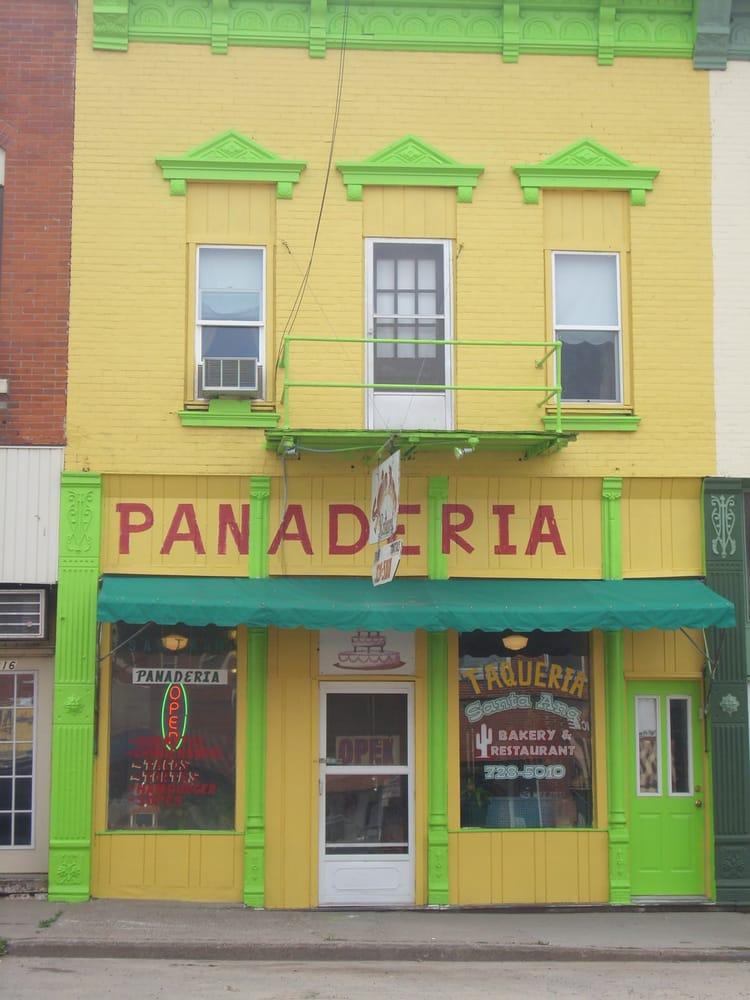 Santa Ana Bakery and Restaurant: 214 Main St, Columbus Junction, IA