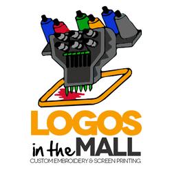 Logos in the mall screen printing t shirt printing for T shirt printing fairlane mall