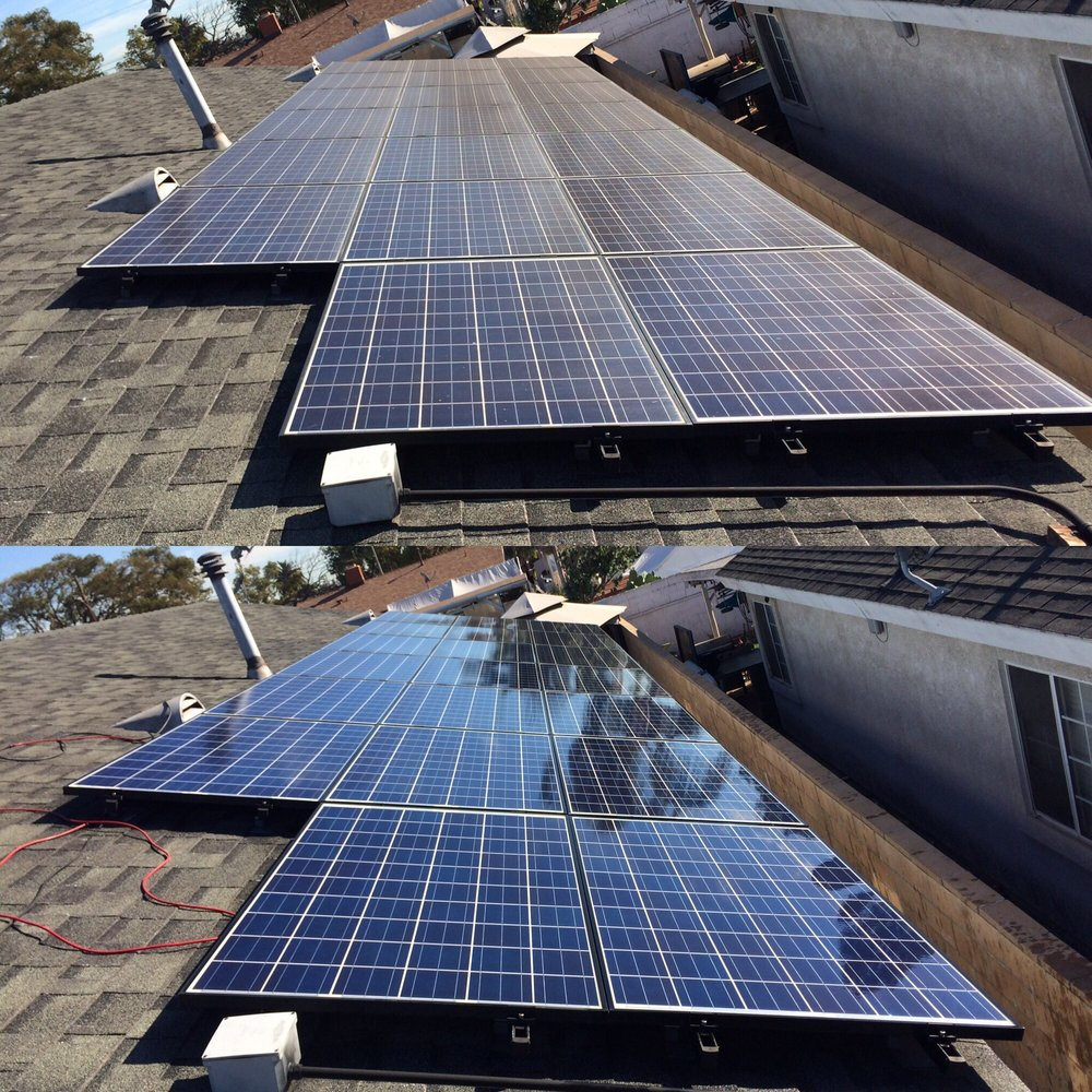 Professional Solar Panel Cleaning: Pasadena, CA