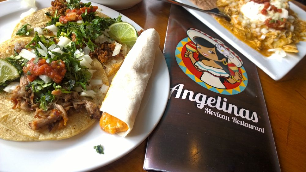Angelina S Mexican Restaurant Southgate Menu