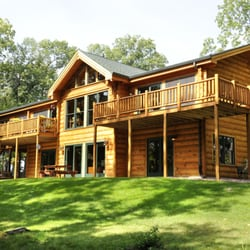 Photo Of Brio Design Homes   Blue Mounds, WI, United States. Log Home