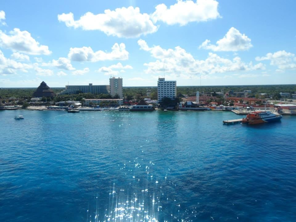 View of cozumel 39 s port from the ship yelp - Allure of the seas fort lauderdale port address ...