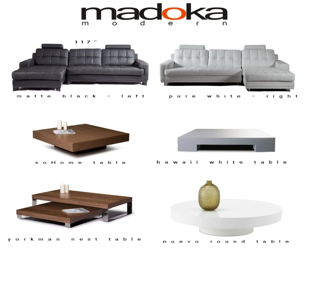 Photo of madoka modern costa mesa ca united states modern sofa in