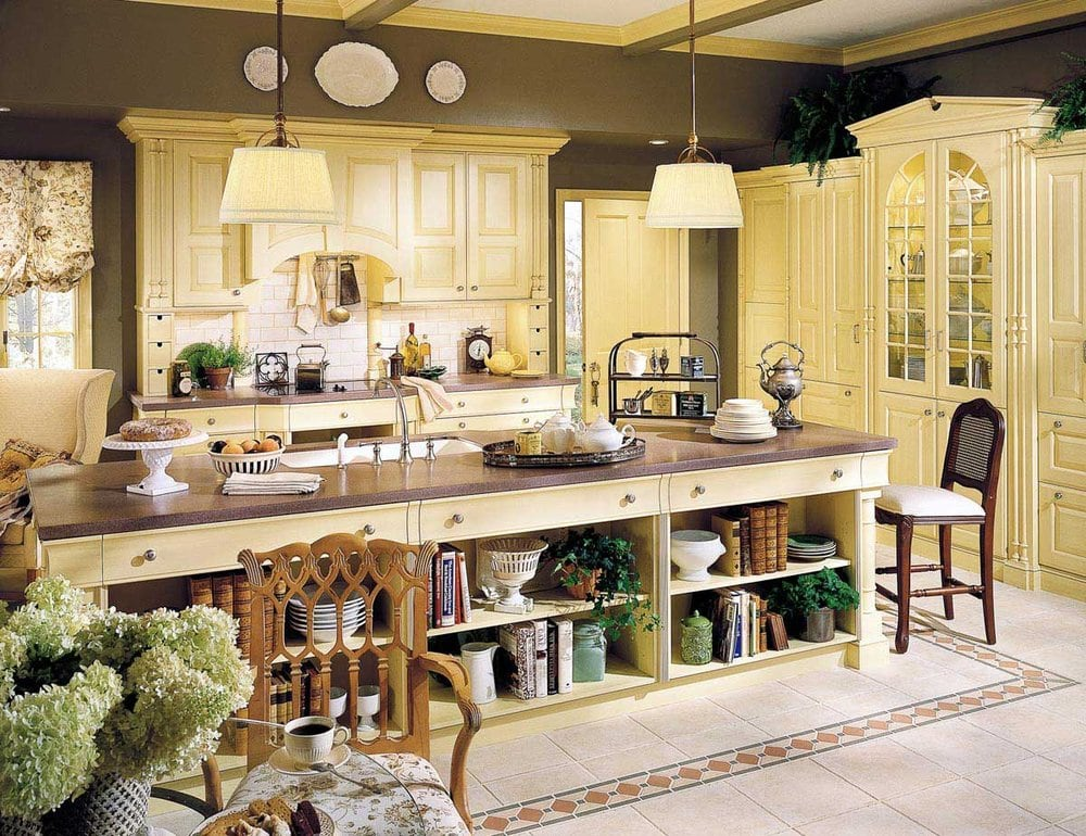 Wood mode english country cabinets yelp for Wood mode kitchen cabinets reviews