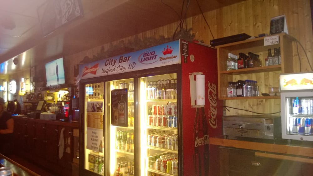 City Bar: 117 N Main St, Watford City, ND