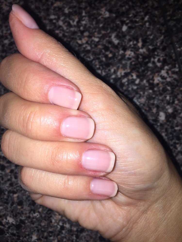 Perfect color suggested by connie for neutral wedding for A perfect 10 nail salon
