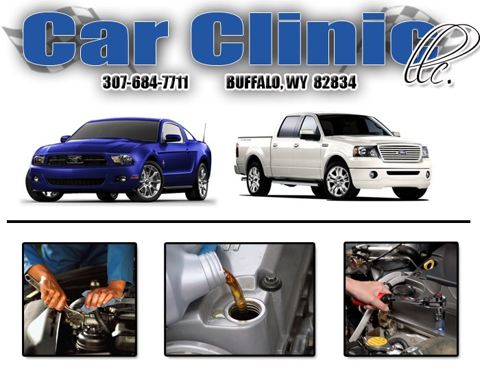 Car Clinic: 490 N Bypass Rd, Buffalo, WY