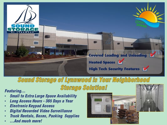 Etonnant Sound Storage Of Lynnwood 16429 20th Ave W Lynnwood, WA Warehouses Self  Storage   MapQuest