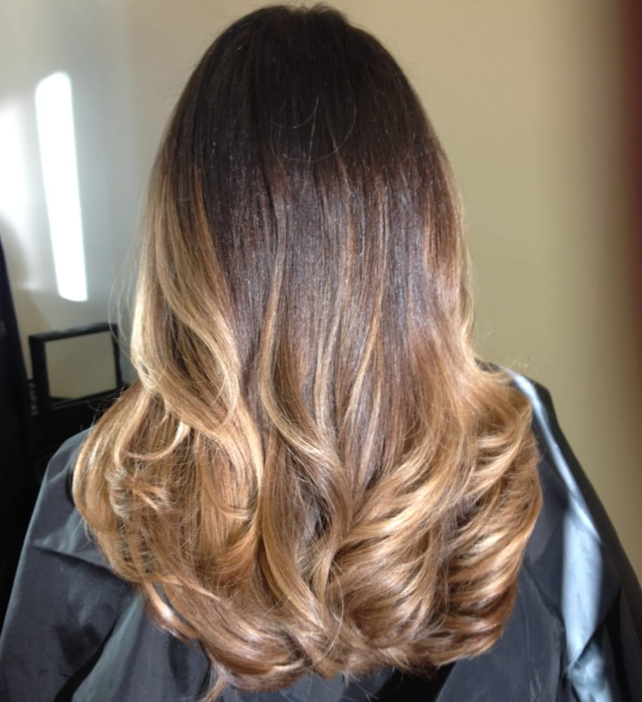 Balayage Ombre Hair Color For Brunettes Yelp