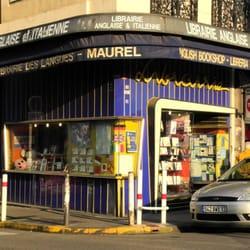 Librairie Maurel - Marseille, France. La Librairie Maurel, entre Notre Dame du Mont et le boulevard Baille