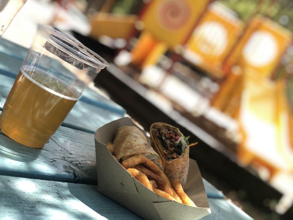 Wraptitude:Gourmet Wraps, Burgers & Beers: 23210 Fm 3009, San Antonio, TX