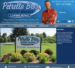 Petrella Bros Auto Body: 3812 Luker Rd, Cortland, NY