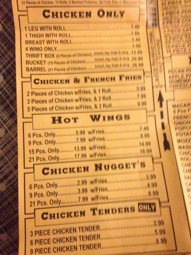 New York Fried Chicken: 610 E Napier Ave, Benton Harbor, MI