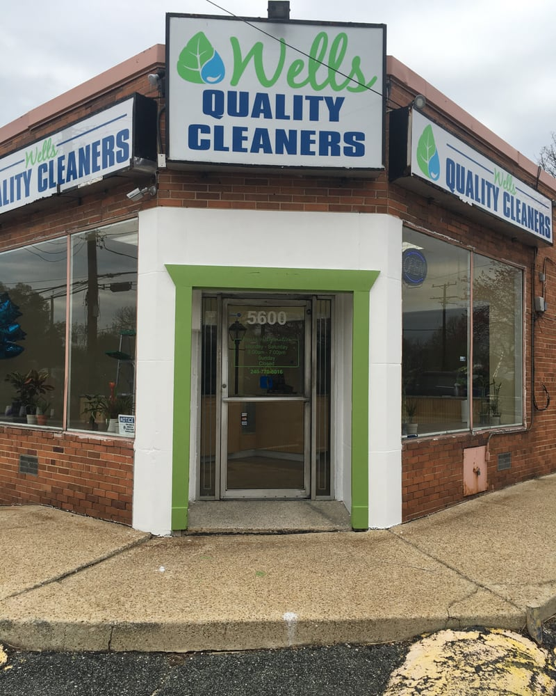 WELLS Quality Cleaners: 5600 Sargent Rd, Hyattsville, MD
