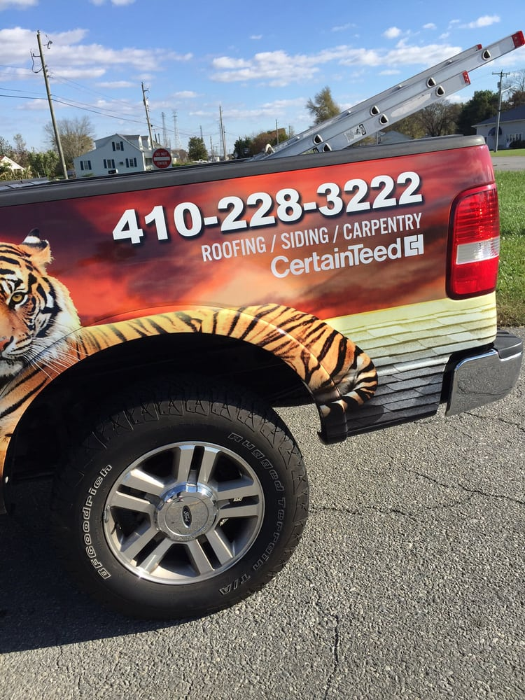 Tiger Roofing: 100 Lake St, Cambridge, MD