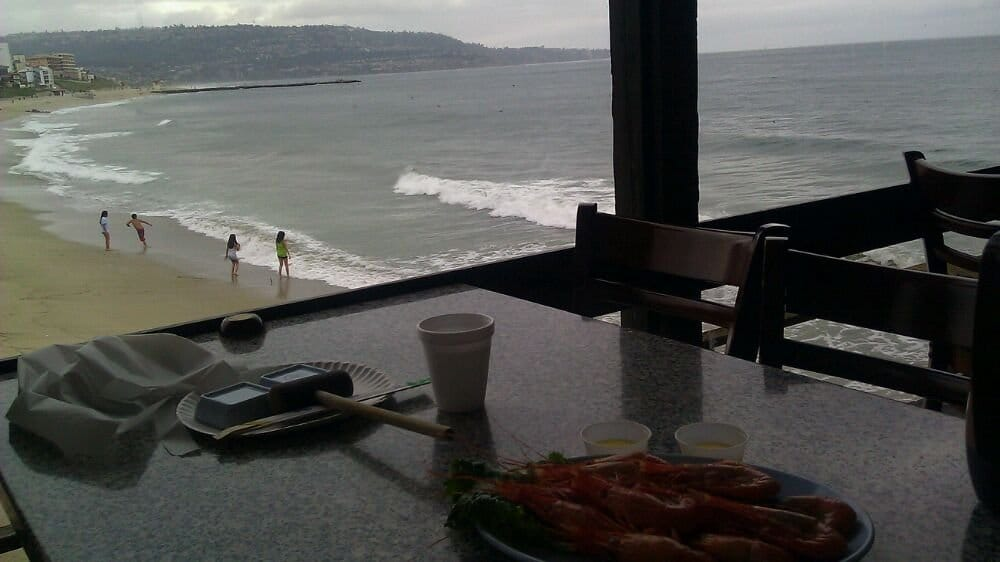 The view from our table. That's redondo beach. - Yelp