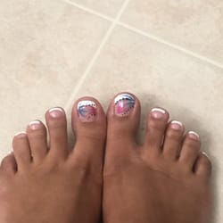 New nails 18 reviews nail salons 9735 johnstown rd new photo of new nails new albany oh united states my french pedi prinsesfo Images