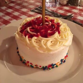 Buca Di Beppo Free Birthday Cake