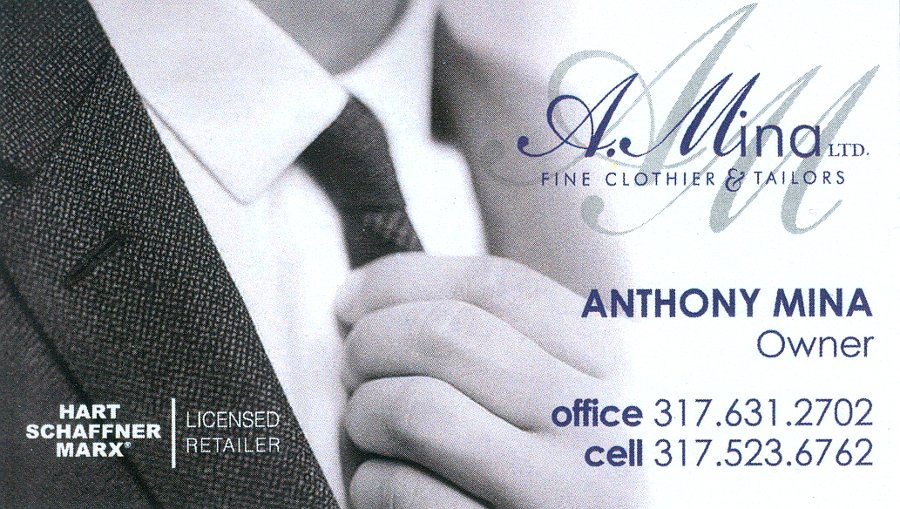 Photo of A.Mina Fine Clothier & Tailors - Indianapolis, IN, United States