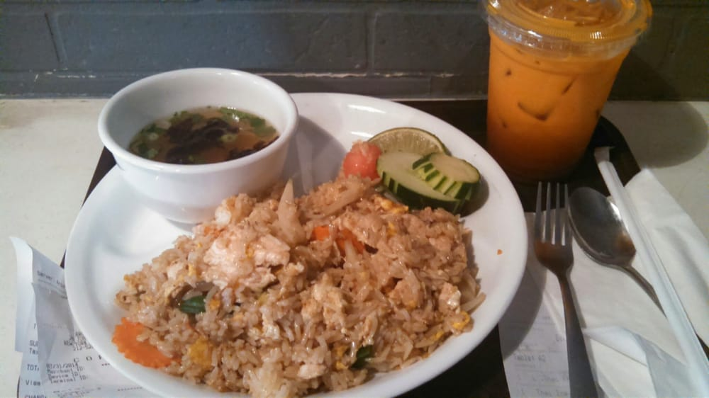 Thai fried rice lunch special yelp for 22 thai cuisine new york ny