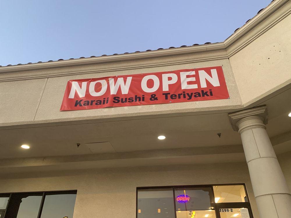 Karaii Sushi & Teriyaki Miguel Style: 7199 Boulder Ave, Highland, CA