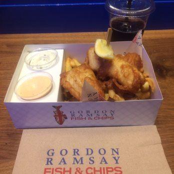 Gordon ramsay fish chips 747 photos 366 reviews for Gordon ramsay las vegas fish and chips