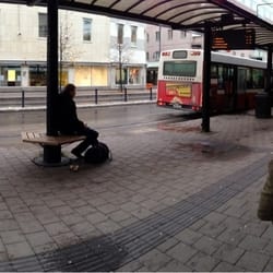 LLT Info - Public Transport - Smedjegatan, Luleå, Sweden - Phone