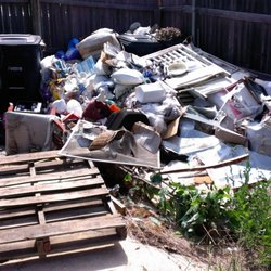 Photo Of Aledo Junk Removal   Aledo, TX, United States. Backyard Junk  Cleanout